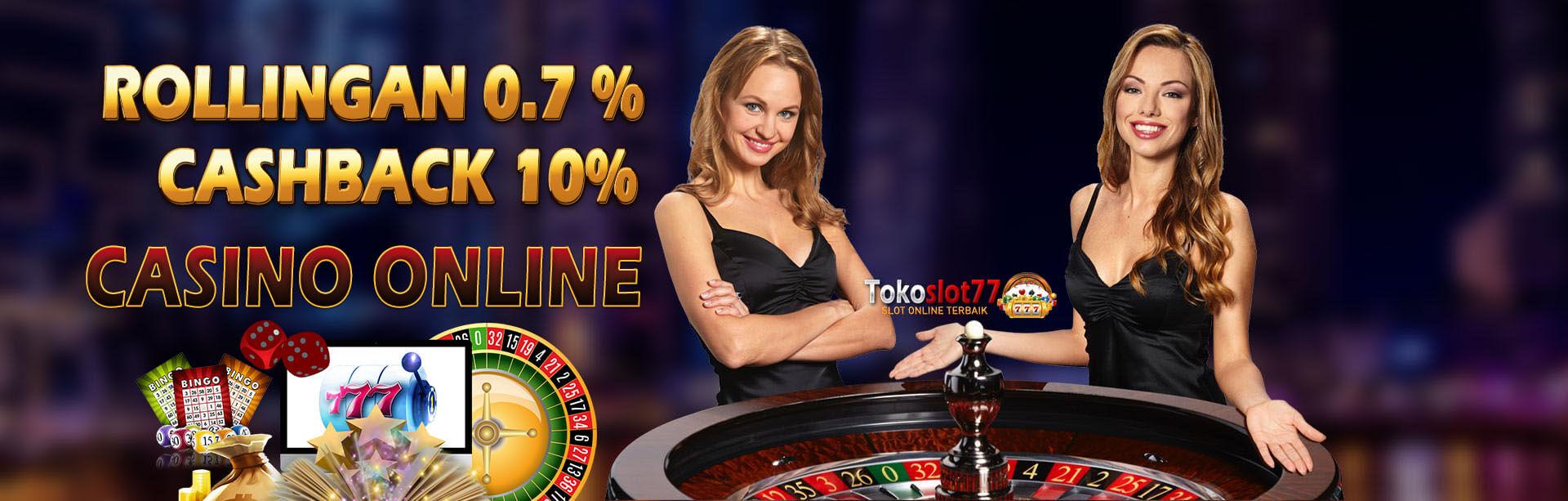 Bonus casino online tokoslot77